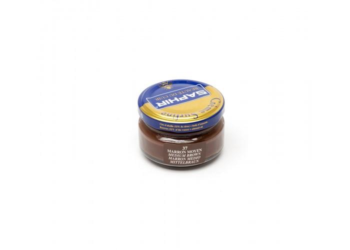crème saphir marron moyen